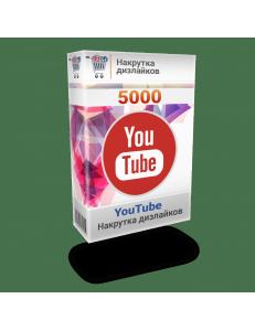 Фото Накрутка 5000 дислайков YouTube