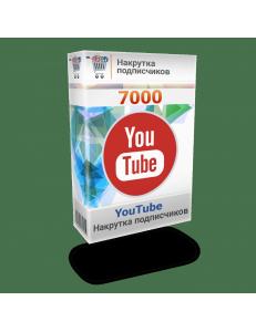 Фото Накрутка 7000 подписчиков на канал YouTube