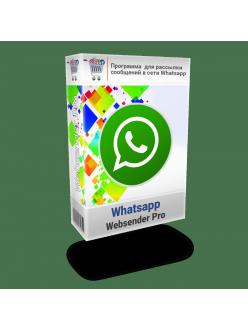 Программа  для рассылки сообщений Вацап - Websender Pro